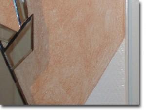 Detail Kombination Glasfasergewebe + Lasur