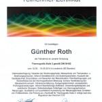 Zertifikat: Testo Thermografie Stufe2